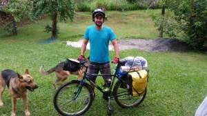Bicicleta pronta para a saída em Águas da Prata